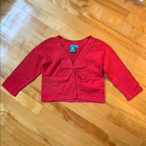 (3 for 15$) 3Y Red Cardigan